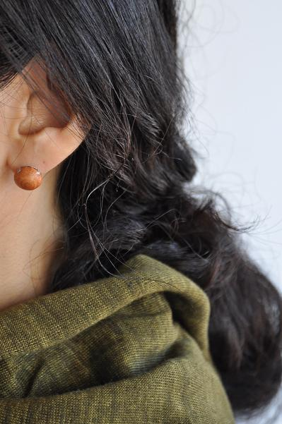 womb Leather Knit Hair Ornament_d0120442_1111739.jpg
