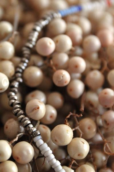 womb Beads & Ball Leather Necklace_d0120442_1117336.jpg