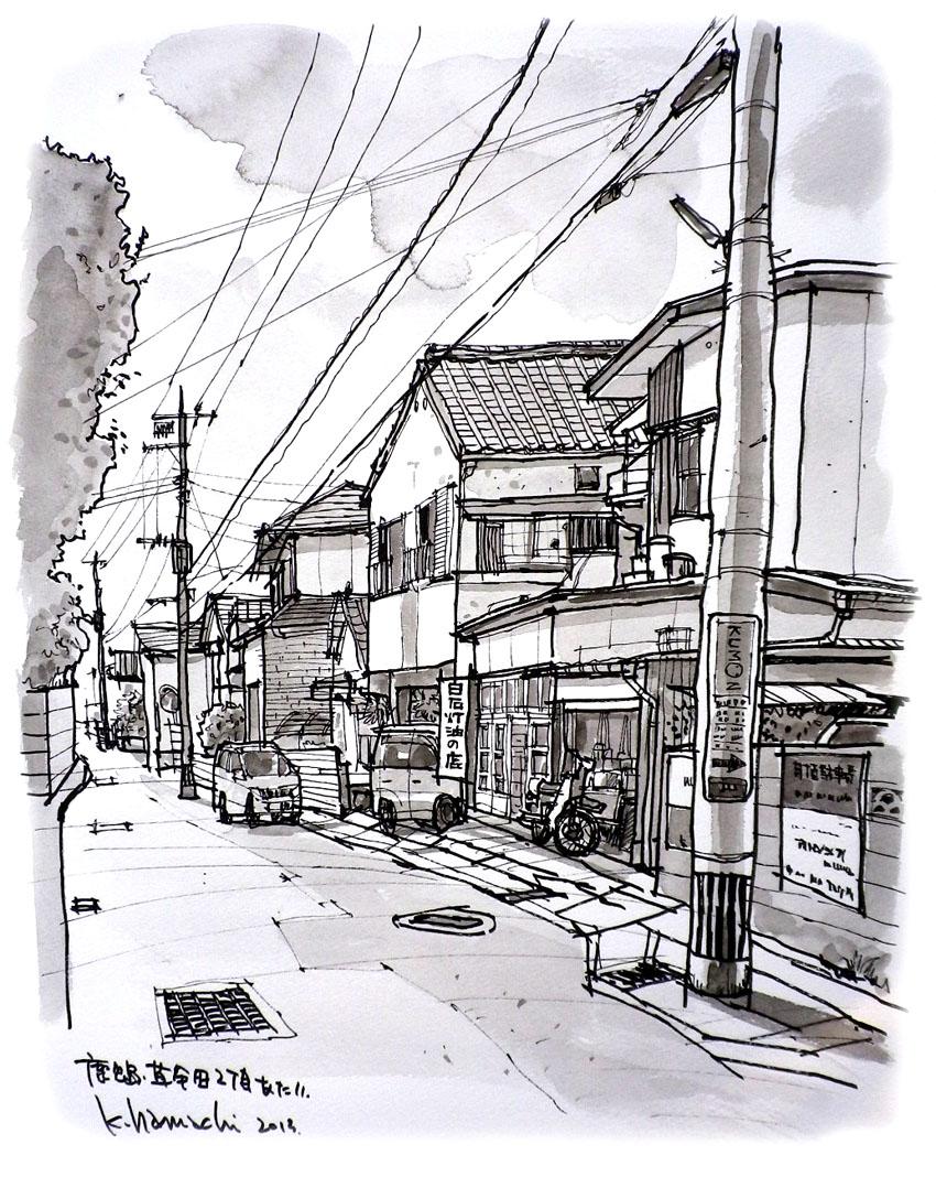 草牟田の路地_f0091634_1437118.jpg