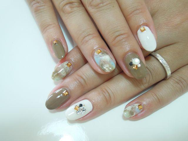 Marble Nail_a0239065_9494637.jpg
