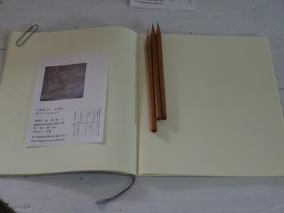 上野さん個展スタート    8・9_e0019167_816384.jpg