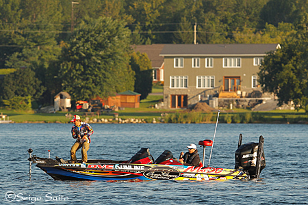 Bassmaster Elite Series #7 St. Lawrence River, NY  初日_a0097491_7581615.jpg