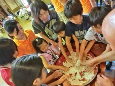 越前里地里山チャレンジ隊2013レポート! 1日目_e0061225_1415059.jpg