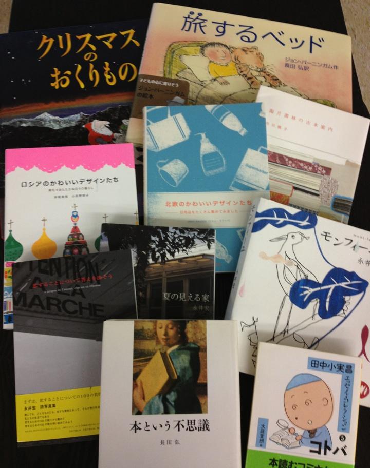 こんな本を並べています。_e0060555_164381.jpg