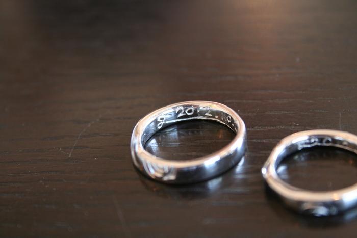 ふたりでつくる結婚指輪。_b0220167_22433756.jpg