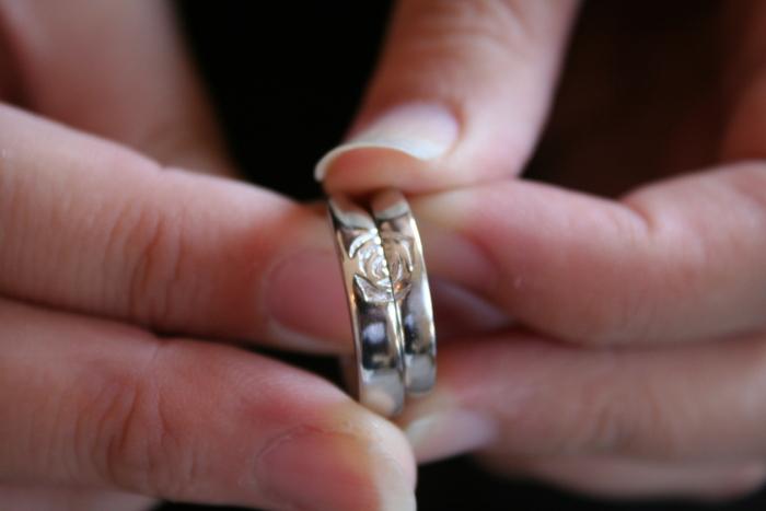 ふたりでつくる結婚指輪。_b0220167_22462050.jpg