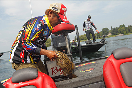 Bassmaster Elite Series #7 St. Lawrence River, NY  日2日目_a0097491_8587.jpg