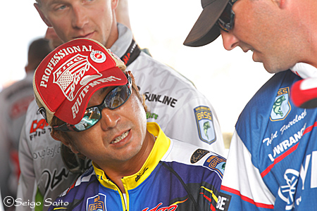 Bassmaster Elite Series #7 St. Lawrence River, NY  日2日目_a0097491_873510.jpg