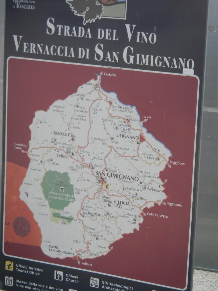 イタリア紀行  その3   フィレンツエ から サン・ ジミニャーノ_c0195496_9394788.jpg