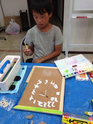 時計を作ろう!あべの教室_f0215199_9524237.jpg