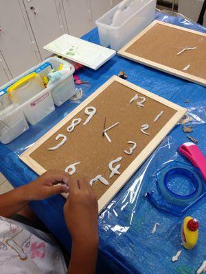 時計を作ろう!あべの教室_f0215199_9524476.jpg