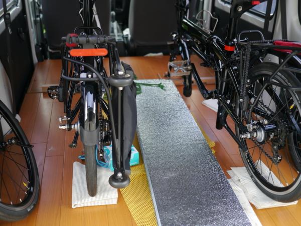 自転車の 自転車 車載 車内 自作 : ... 湖自転車サイクリングブログ
