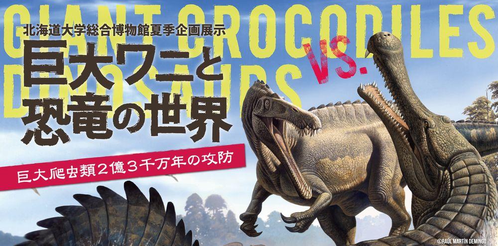 理科教育学会と博物館企画展示「ワニと恐竜」_c0025115_22142947.jpg