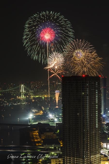 東京の風景 東京湾大華火祭 2013_b0133053_1111829.jpg