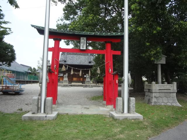 八幡社(刈谷市井ヶ谷町) : 神...
