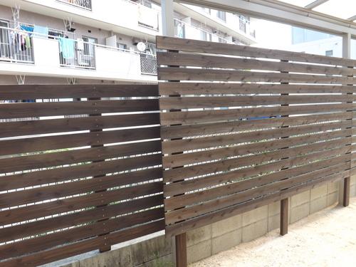T様邸、ウッドデッキ、フェンスを施工しました_d0237564_1533943.jpg