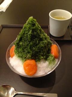かき氷!@虎屋赤坂本店_f0164187_1725177.jpg