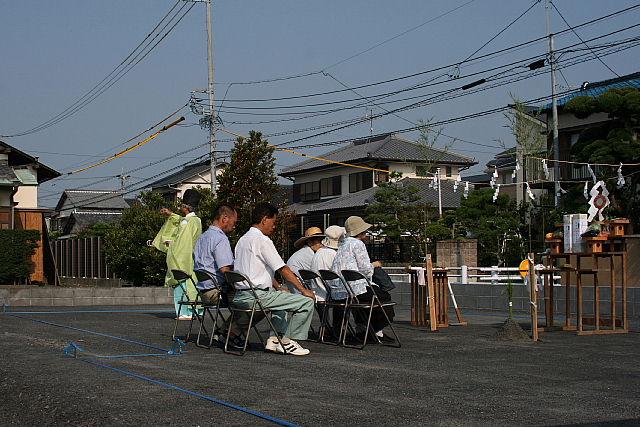 三ケ名の家 地鎮祭_e0145995_1859239.jpg
