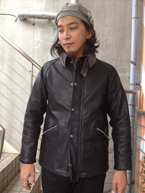 別注のレザージャケット。_d0121303_19515027.jpg