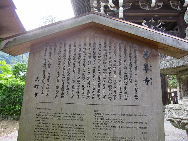 西山宮門跡『善峰寺』は日本一の松(天然記念物)_e0237645_945381.jpg