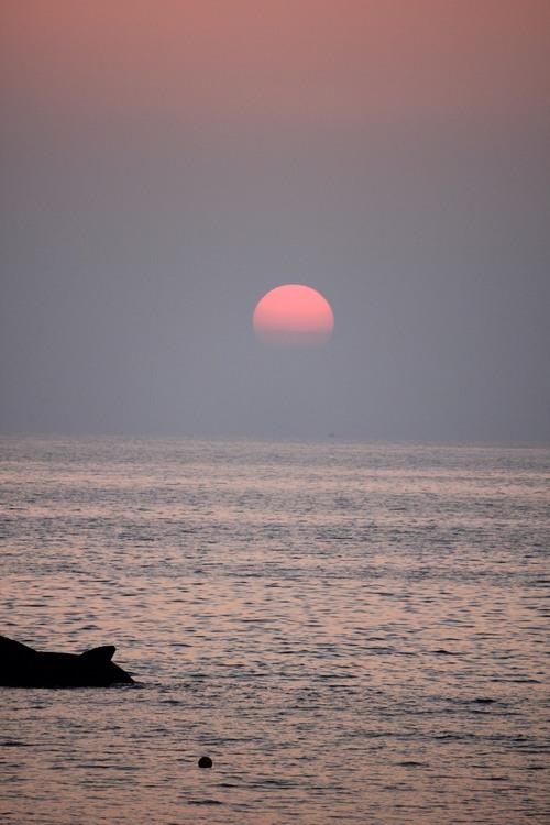 夕日とヨガ!神秘的なひととき♪_a0200771_23475186.jpg