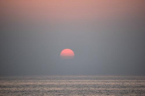 夕日とヨガ!神秘的なひととき♪_a0200771_23482238.jpg