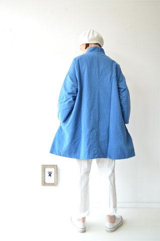 ブルーのAラインジャケット_f0215708_14131064.jpg