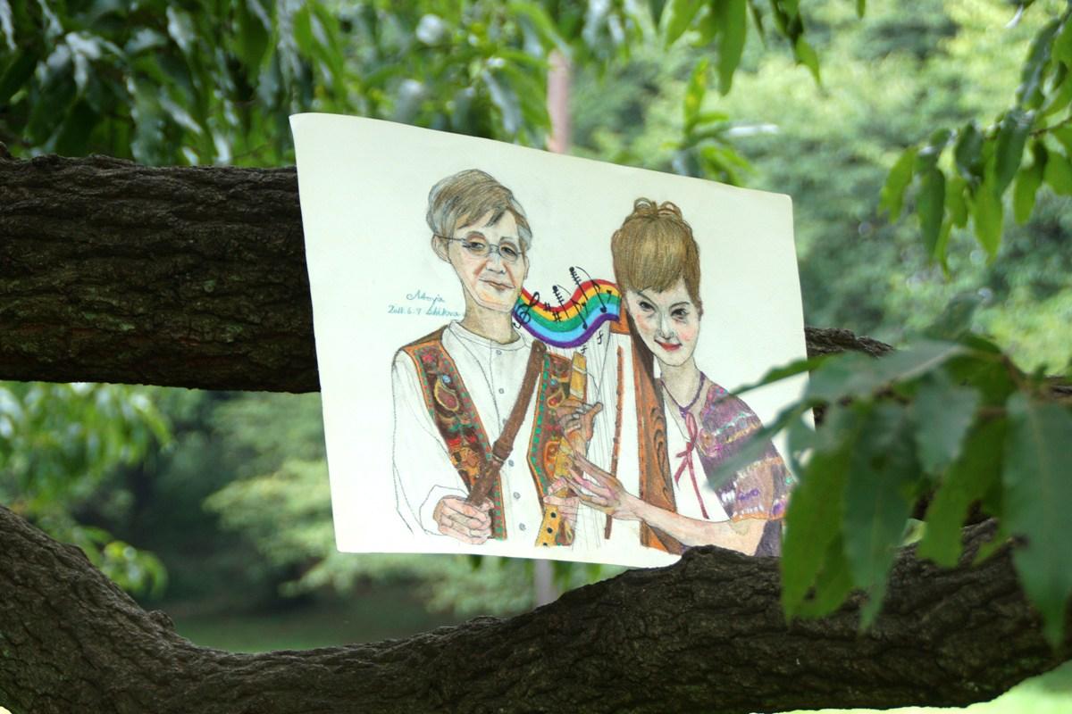 石川直也君一周忌に黙祷@砧公園の彼が好きだった大木on月暦(旧暦)七夕_f0006713_213351100.jpg