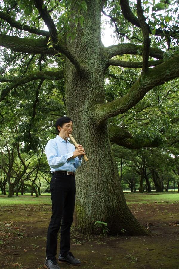 石川直也君一周忌に黙祷@砧公園の彼が好きだった大木on月暦(旧暦)七夕_f0006713_2134188.jpg