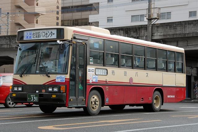 祐徳バス~いすゞLR(トップドア車)~_a0164734_15365534.jpg