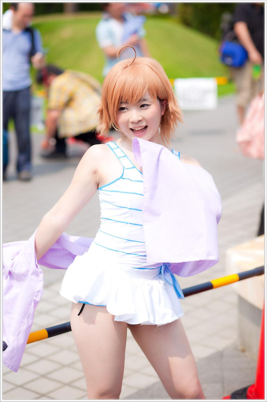 コスプレ写真 速報 夏コミ【C84】3日目 No1 庭園広場編_b0073141_11956.jpg