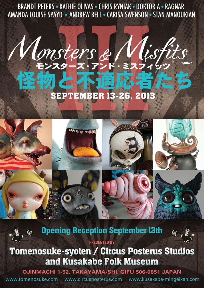 Monsters & Misfits III、ポスター出来_a0077842_22411339.jpg