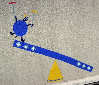 壁画を描こう!「3びきのかめ・1まんねんのぼうけん!」5.5_f0247351_8444519.jpg