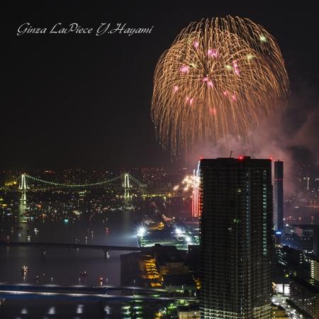 東京の風景 東京湾大華火祭 2013 其の3_b0133053_1473495.jpg