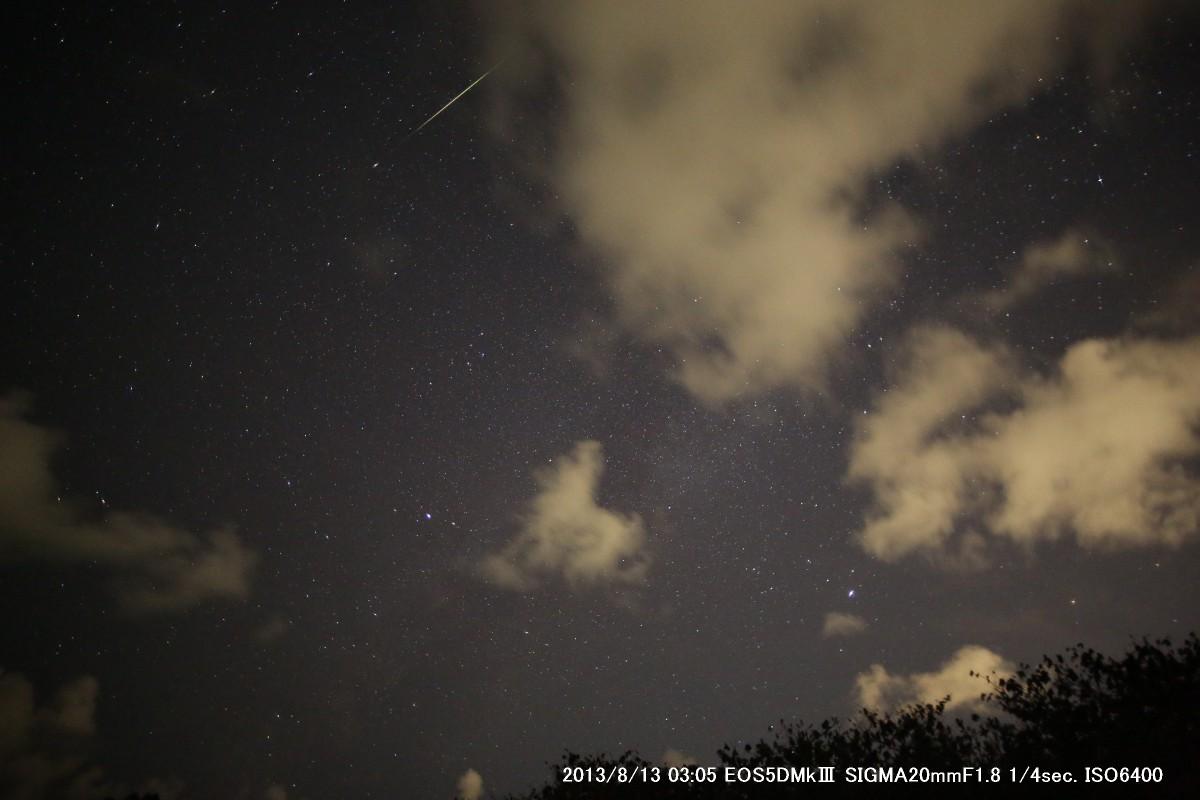 2013年ペルセウス座流星群_a0095470_23142466.jpg