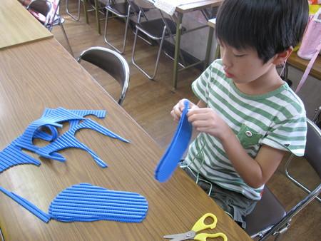 長尾教室 ~ぞうり作り~_f0215199_146821.jpg