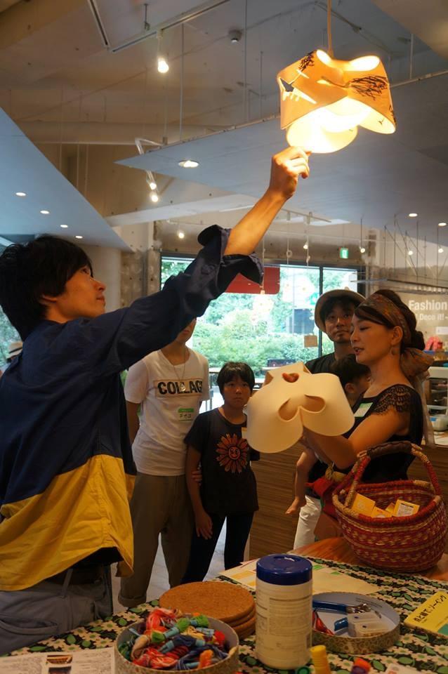 フェルトのlet\'s lightを作ろう!2013夏@fabecafeワークショップレポート_e0253101_12485069.jpg