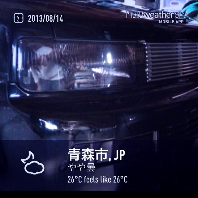 8/14 車いじり_f0116421_23551100.jpg
