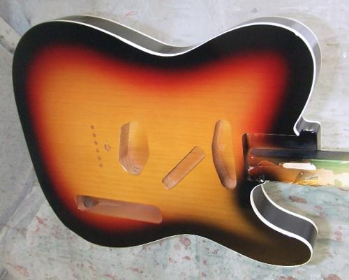 芹澤さんオーダーの「Moderncaster T #023」を着色。_e0053731_18583489.jpg