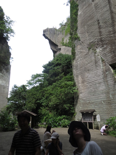 房州石採石場にて_a0157159_152385.jpg