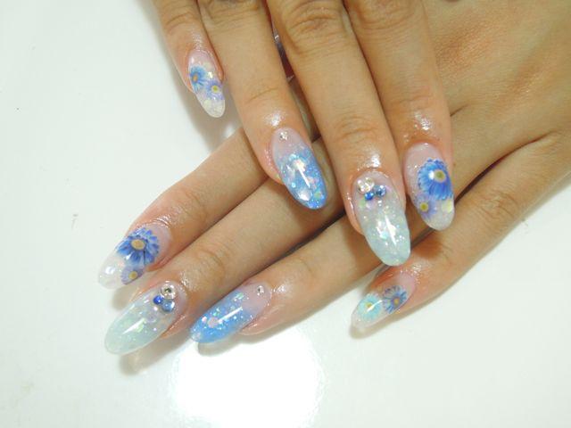 Bule Flower Nail_a0239065_1246479.jpg