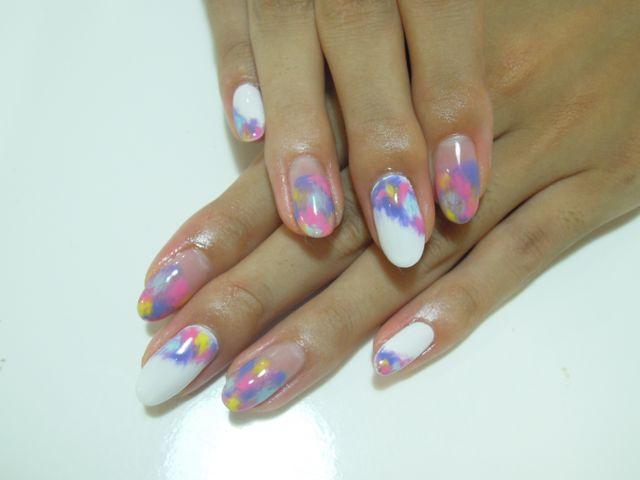 Marble Nail_a0239065_12513371.jpg