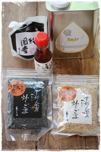 Nadia×山田製油さんのコラボ企画・黒ごま蕎麦_b0165178_10374640.jpg
