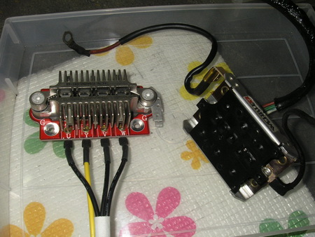 R100RS+クマガヤ 整備点検 (充電回路の交換)_e0218639_112586.jpg