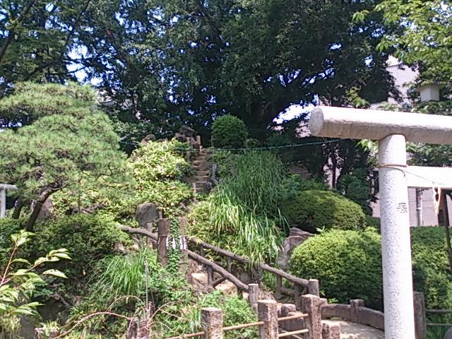 『鳩森富士』_a0075684_17213482.jpg