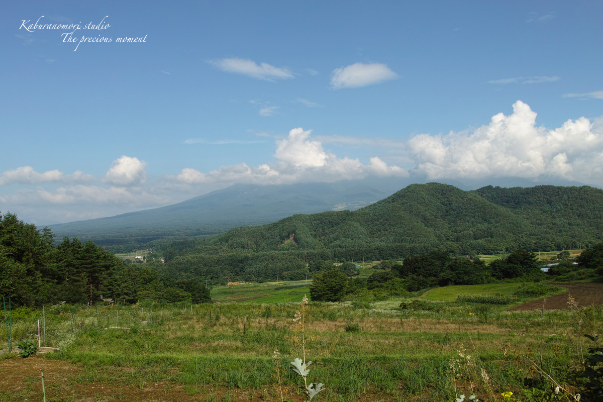 清里山間恒例の夏行事_c0137403_16281437.jpg