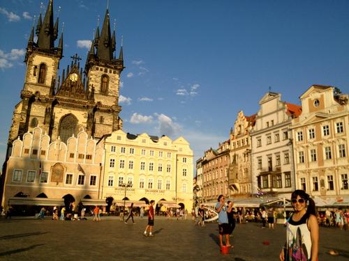 Czech 1 プラハの旧市街_a0229904_0115532.jpg
