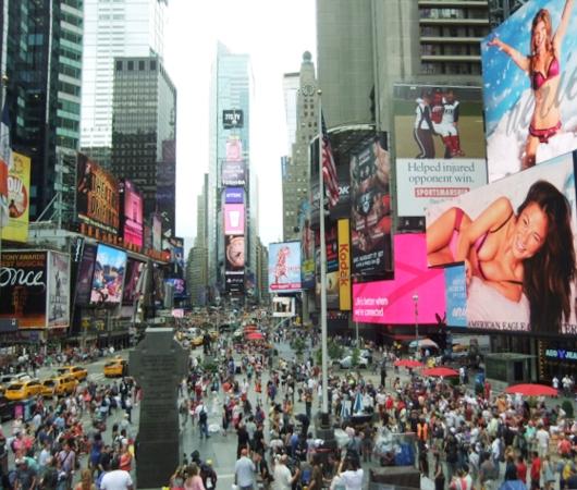 夏のニューヨークのタイムズ・スクエア_b0007805_2293429.jpg