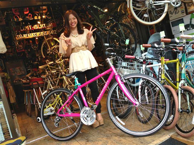 今日のバイシクルガール ☆二本立て☆ 自転車 女子 RALEIGH MASI_b0212032_21183750.jpg