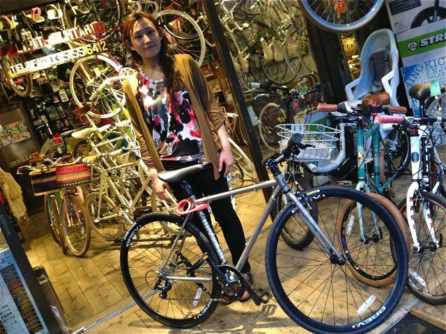 今日のバイシクルガール ☆二本立て☆ 自転車 女子 RALEIGH MASI_b0212032_21205966.jpg